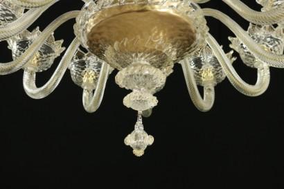Lampadario veneziano 12 bracci - Illuminazione - Bottega del 900 ...