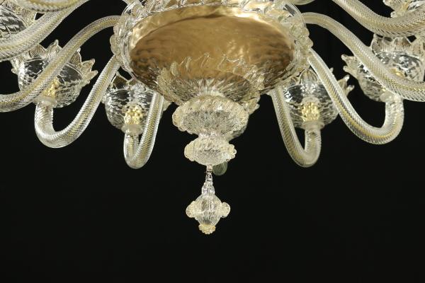 Kronleuchter Mit Blättern ~ Venezianischer kronleuchter arme beleuchtung bottega del