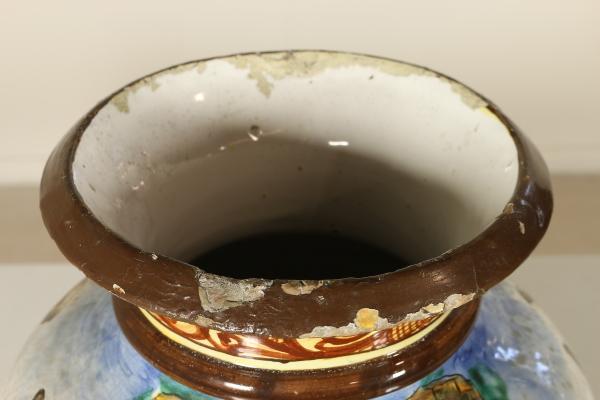 Vase spica albisola ceramics antiques dimanoinmano.it