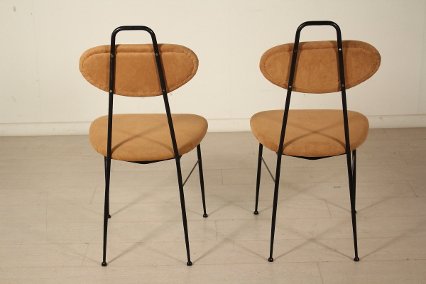 Sedie vintage anni 50 coppia sedie imbottite vintage anni - Sedie design anni 50 ...