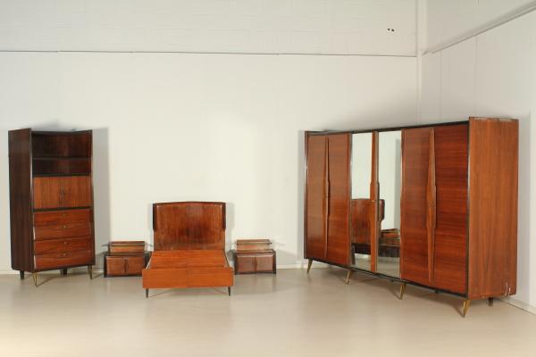 Camera Da Letto Stile Anni 60 : Camera completa in stile ico parisi arredi completi
