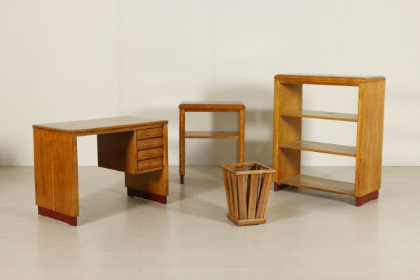 Art Deco office furniture - Arredi completi - Bottega del ...