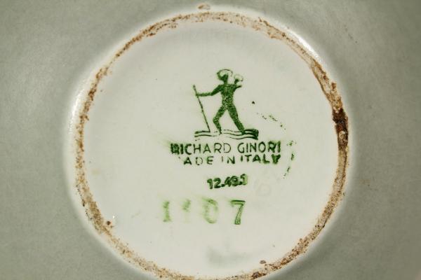 Marchi Richard Ginori.Richard Ginori Pot Giovanni Gariboldi Objects Modern