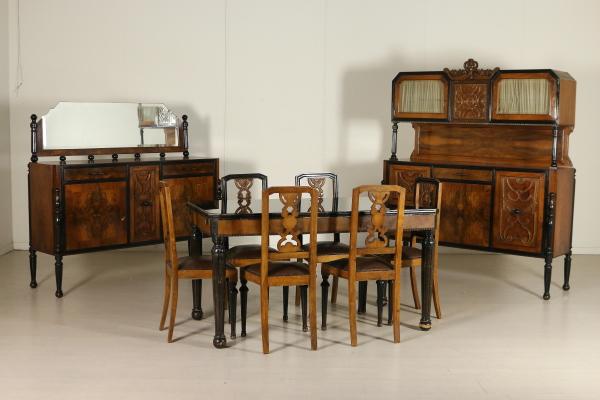 Sedie anni 20 sedie modernariato for Arredamento anni 20