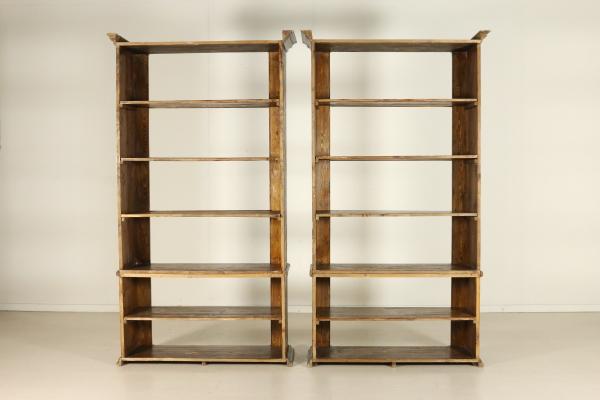 Coppia librerie a giorno - Mobili in stile - Bottega del 900 ...