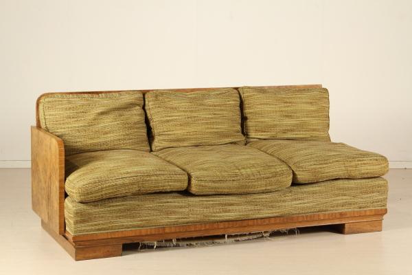 Divano stile art dec divani modernariato - Divano anni 30 ...