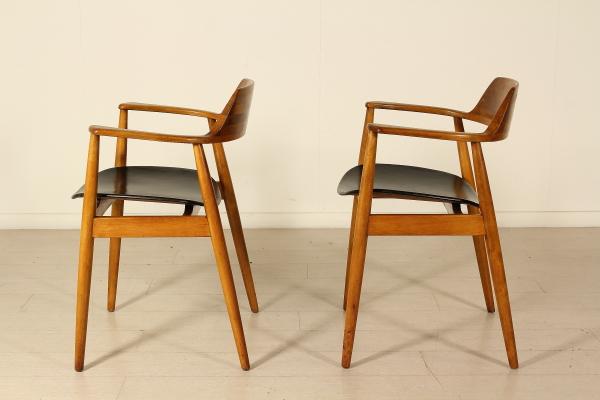Sedie anni 50 60 sedie modernariato for Sedie design anni 20