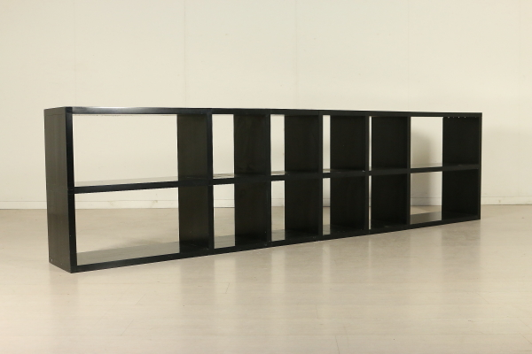 Kartell Plastic Modular Bookcase Designed By Giulio Polvara Vintage