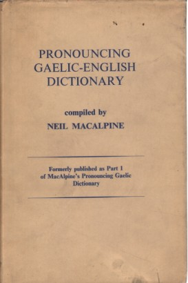 Pronouncing Gaelic-English dictionary