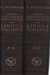 Novo universal dictionary of the Italian language (two volumes)