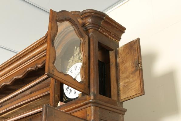 Credenza Con Maioliche : Credenza piattaia con orologi credenze antiquariato