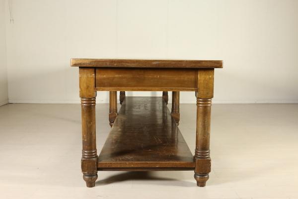 Tavolo Da Lavoro Grande : Grande tavolo da lavoro liberty bottega del dimanoinmano