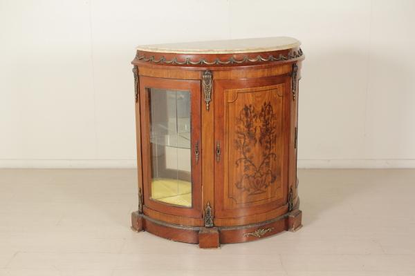 Credenza Vetrina Da Restaurare : Credenza vetrina in stile mobili bottega del