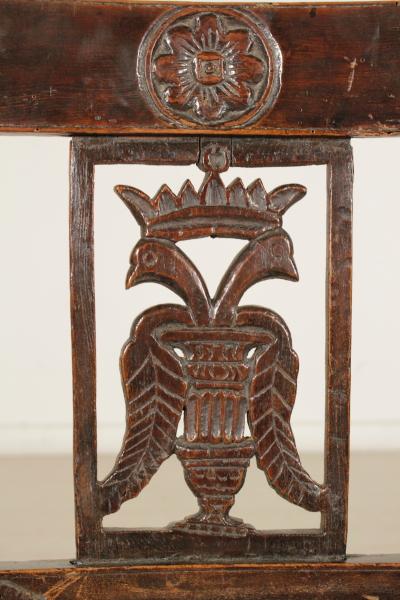 Sedia direttorio sedie poltrone divani antiquariato for Sedia particolare
