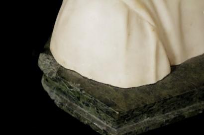 Busto in marmo bianco di dante oggettistica for Oggettistica particolare
