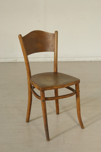 Sedie Thonet Moderne.Group 5 Thonet Chairs Liberty Bottega Del 900