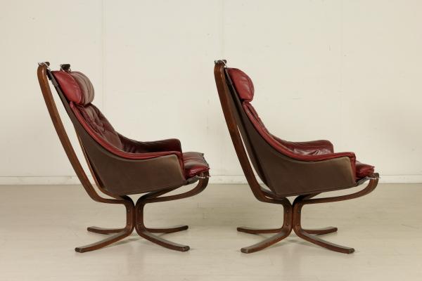 Viking Poltrona Frau.Two Frau Armchairs Bentwood Fabric Foam Leather Vintage