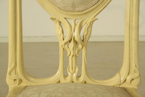 Salotto art nouveau arredi completi bottega del 900 - Art nouveau mobili ...