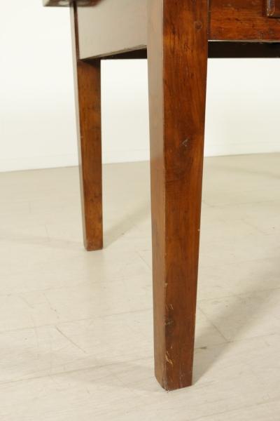 Tavolo in noce massello - Mobili in stile - Bottega del 900 ...
