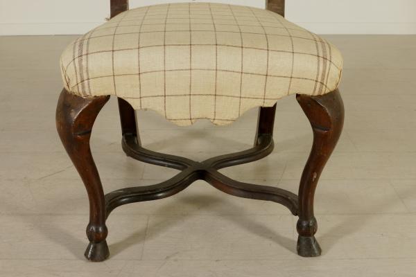Sedia pattona sedie poltrone divani antiquariato for Sedia particolare
