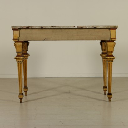 Neoclassical parietal table-front