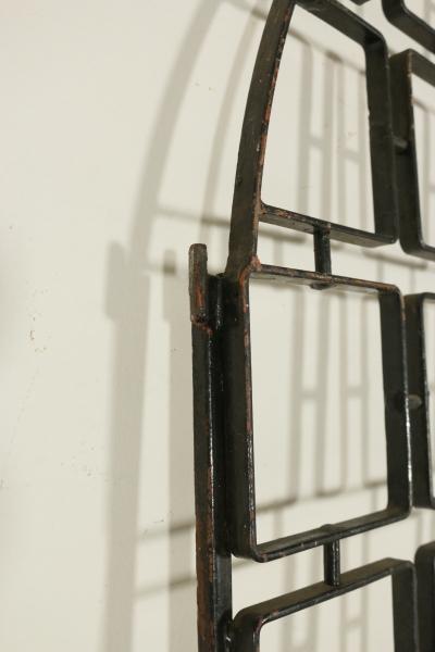 Porta in ferro battuto complementi modernariato - Porta tv ferro battuto ...