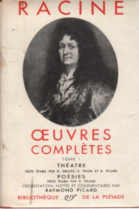 Oeuvres complètes (Vol. I)