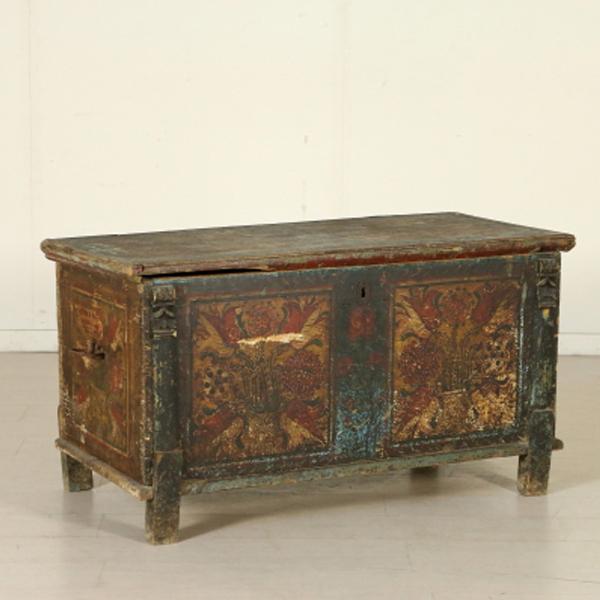 Cassapanca decorata altri mobili antiquariato - Cassapanca decorata ...