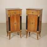 Pair of nightstands Empire