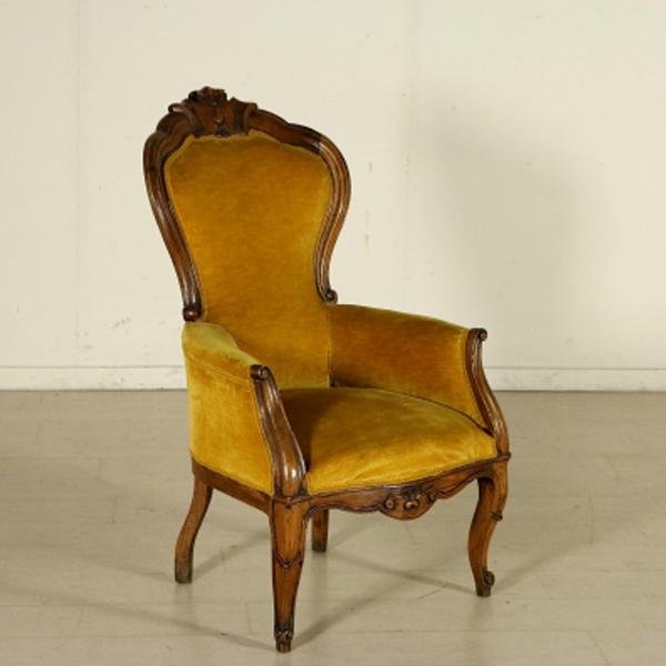 Divani Antichi Luigi Filippo : Poltrona luigi filippo sedie poltrone divani