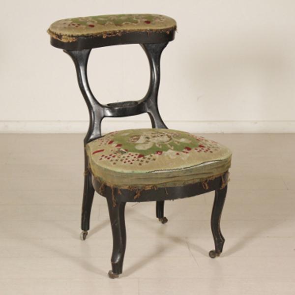 Sedia da ufficio sedie poltrone divani antiquariato for Sedia ufficio antica