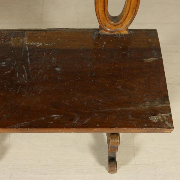 Panca con schienale - Mobili in stile - Bottega del 900 ...