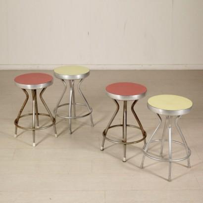 sgabelli anni 50 sedie modernariato