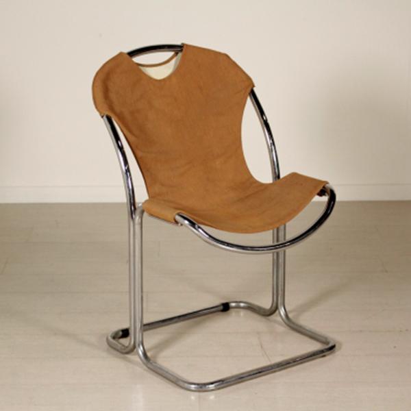Sedia anni 60 70 sedie modernariato for Sedia design anni 70