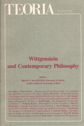 Teoria, V-1985-2: Wittgenstein and Contemporary Philosophy