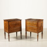 Pair nightstands Neoclassical