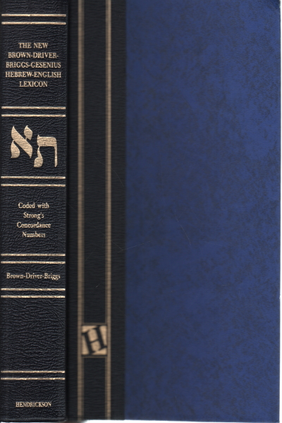 The Brown-Driver-Briggs-Gesenius Hebrew and English Lexicon