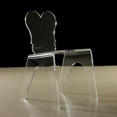 sedie in plexiglass anni 80 sedie modernariato