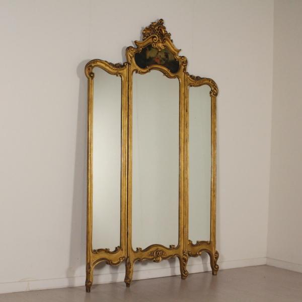 Paravento con specchi mobili in stile bottega del 900 - Specchi in stile ...