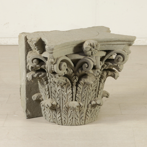 Capitello neoclassico pietre e arredi giardino for Arredi antiquariato