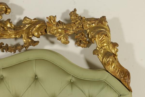 Podwójna Płyta Szczytowa Starożytna Rzeźba łóżka I Głowy