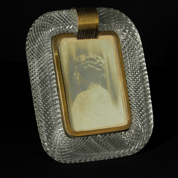 Portafoto in ottone e vetro di murano oggettistica for Barovier e toso catalogo vasi