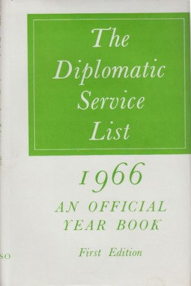 The Diplomatic Service List