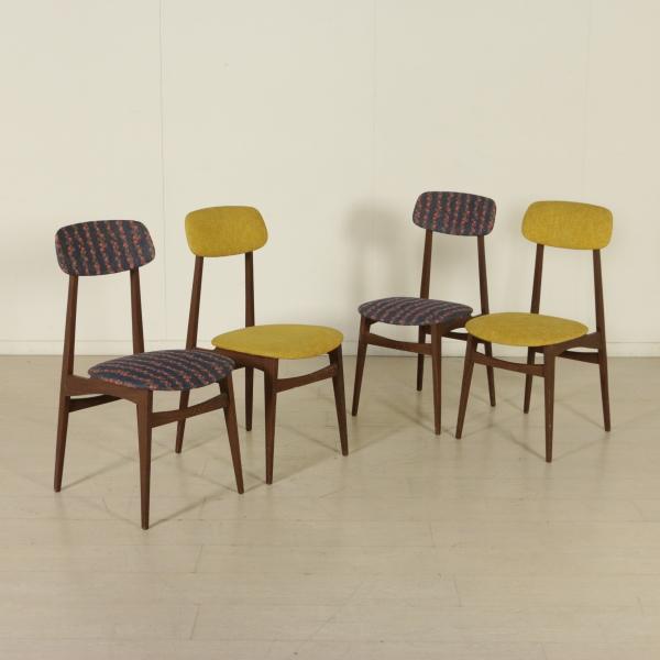 Sedie anni 60 sedie modernariato for Sedie design famose