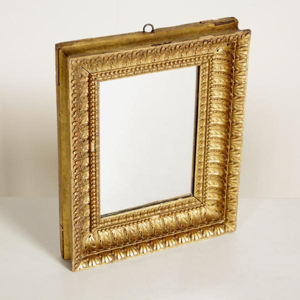 Espejo tallado espejos y marcos antiguedades for Espejos tallados