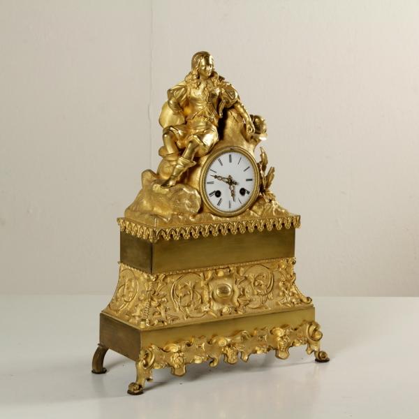 Orologio da tavolo oggettistica antiquariato - Orologio a pendolo da tavolo ...