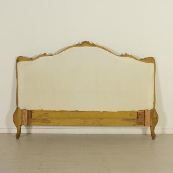 Testiera letto matrimoniale mobili in stile bottega - Testiera letto libreria ...
