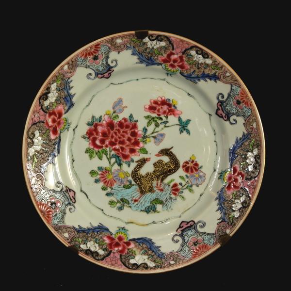 Sei piatti famille rose in porcellana cinese ceramiche for Piatti cinesi piu mangiati