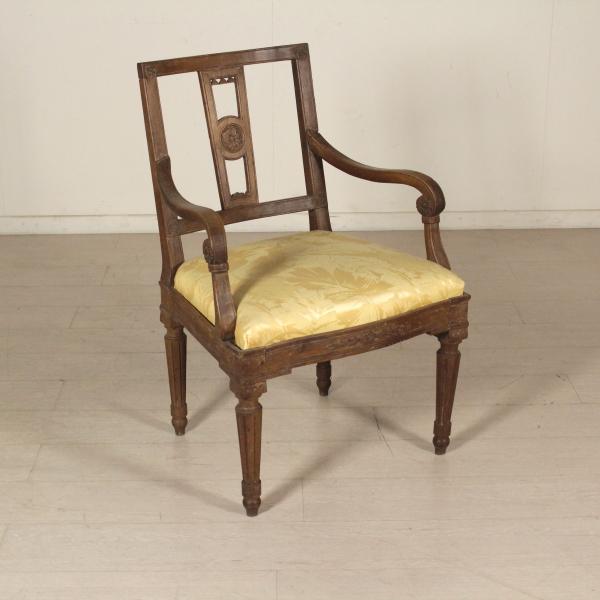 Poltrona neoclassica sedie poltrone divani for Sedie a poltrona