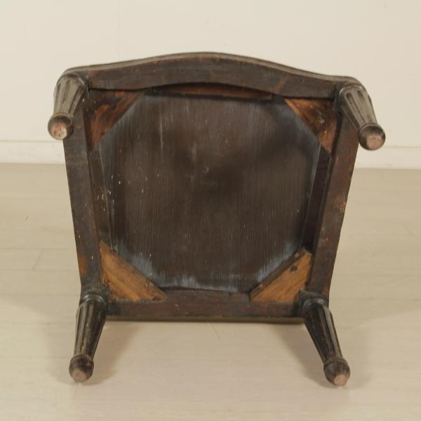 Sedia neoclassica sedie poltrone divani antiquariato for Sedia particolare